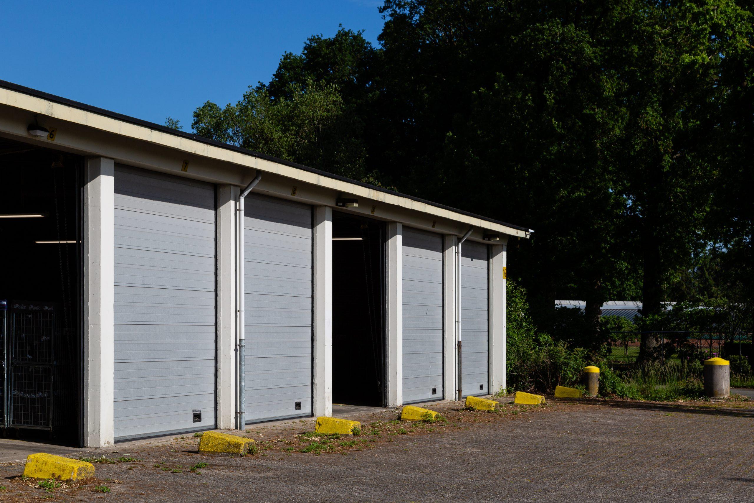 Gebouw 16 - Voertuigenloods, Magazijncomplex Veldhuizen (Loenen)