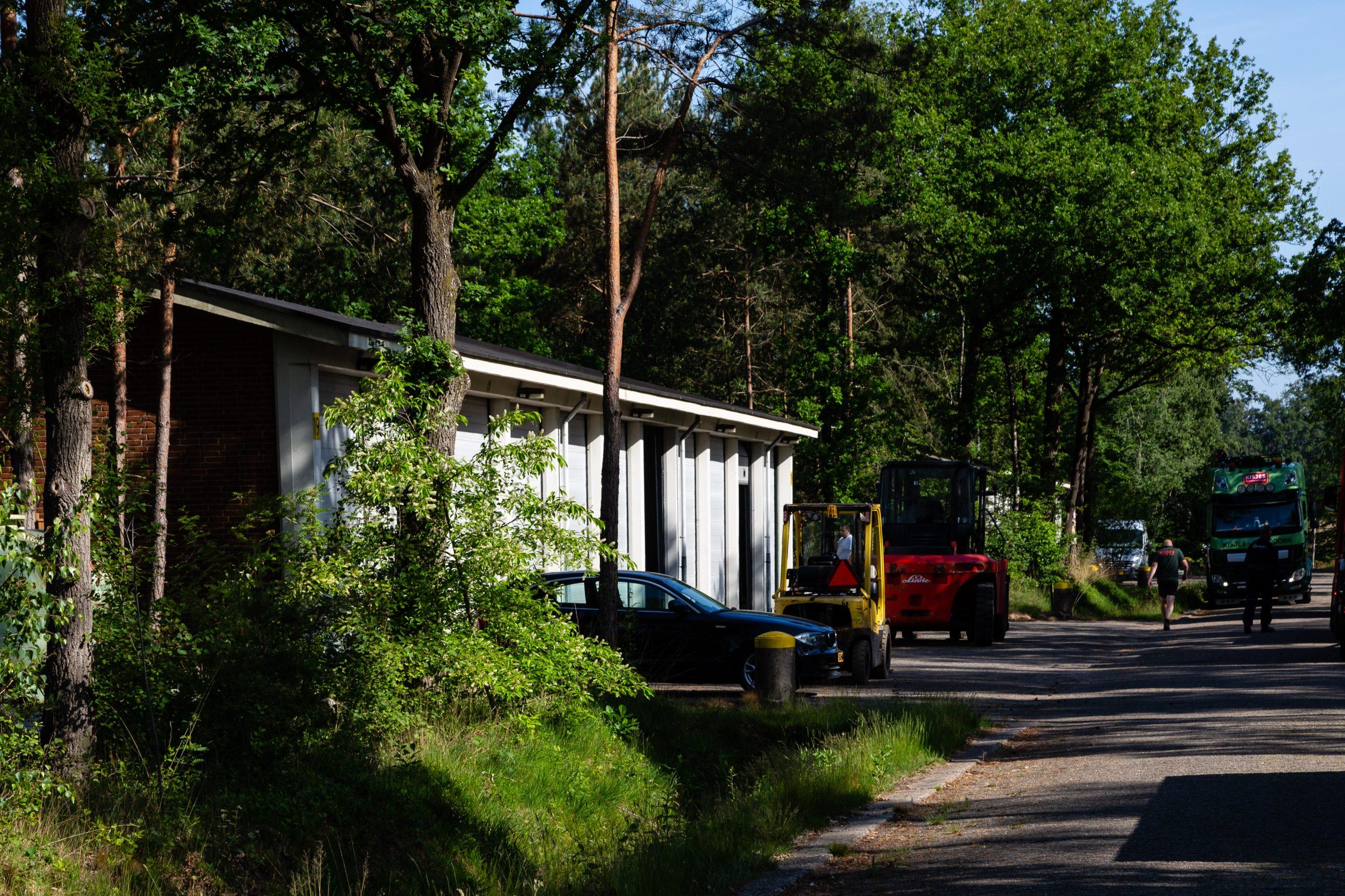 Gebouw 19 - Voertuigenloods, Magazijncomplex Veldhuizen (Loenen)