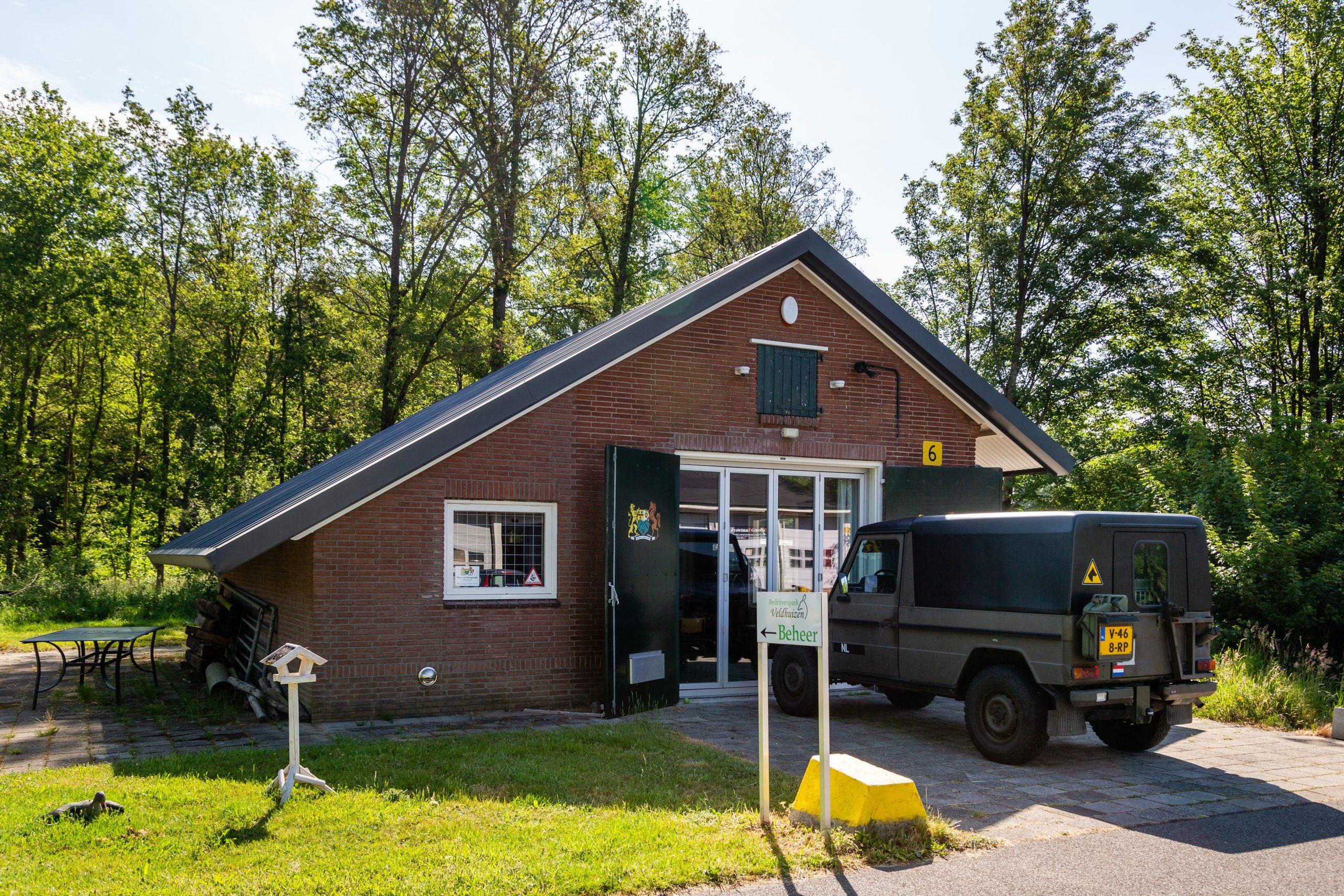 Gebouw 6 - Geniewerkplaats, Magazijncomplex Veldhuizen (Loenen)